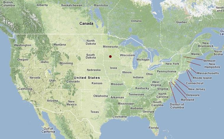 Prairie Island Mn Map