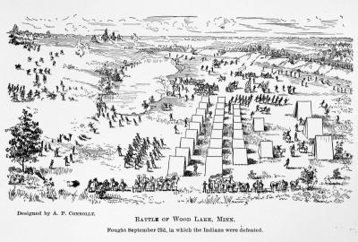 The Battle of Wood Lake, September 23, 1862