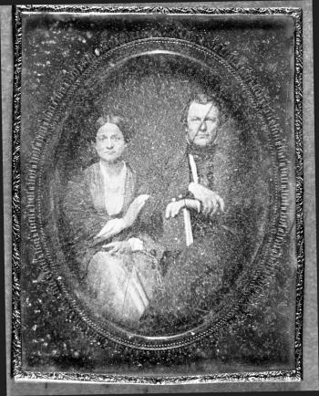 Colonel and Mrs. William B. Dodd, about 1855