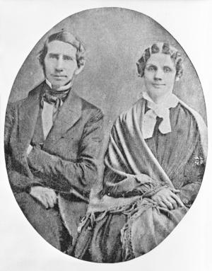 Stephen and Mary Riggs, about 1860