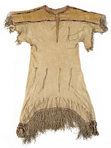 Dakota woman's dress