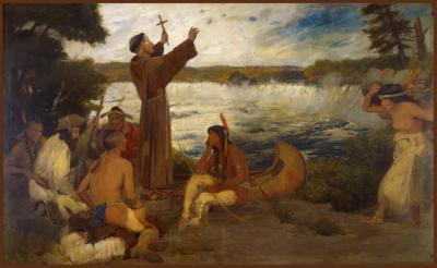 the huron indians and the christian newcomers Our proud history archaeological information indicates that algonquin people have lived in the ottawa valley for at least 8,000 years and their huron.