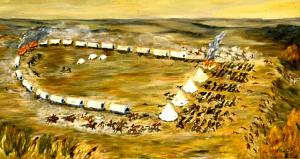 The Battle of Birch Coulee, Dorothea Paul, 1975