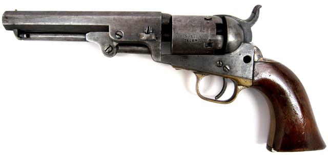 Colt 1849 Pocket Model Revolver The U S Dakota War Of 1862