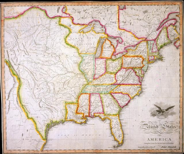 Map Of The United States The USDakota War Of - Us map 1862